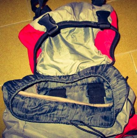 La mochila de 50 litros, compañera de emociones