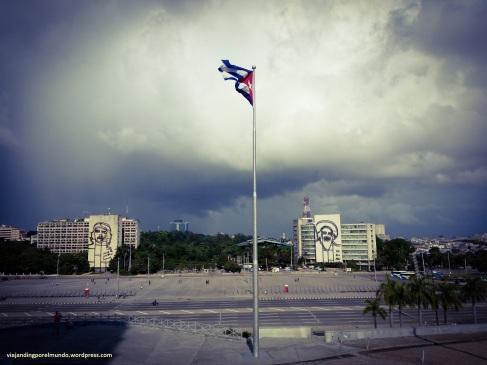 La Plaza de la Revolución vista desde el Monumento a Martí
