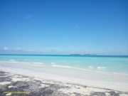 Más aguas cristalinas. Playa Pilar.