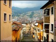 Una de las tantas vistas hermosas de Quito