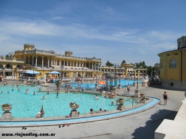 Las piscinas exteriores de Szechenyi