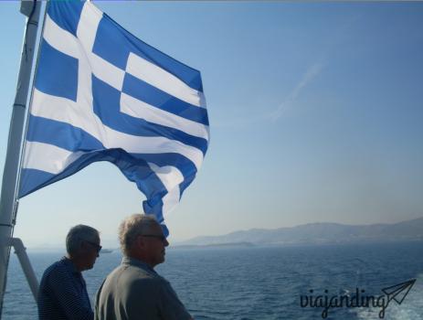 Camino a Naxos, Grecia