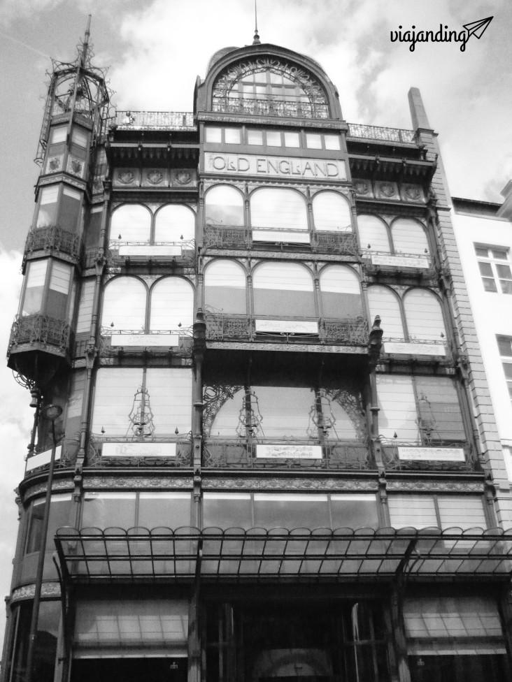 Edificio Old England, Bruselas