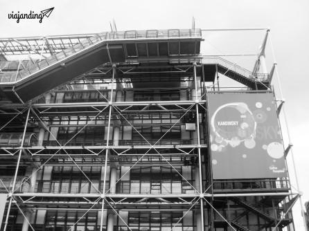 Centro Pompidour - París, Francia