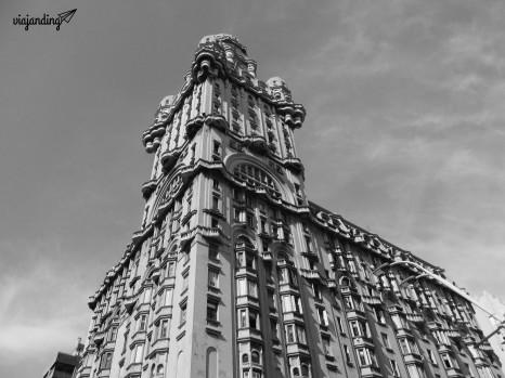 La torre del Palacio Salvo
