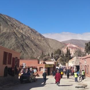Una de las prmeras calles que vi del pueblo
