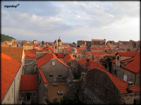 Los techos rojos del centro histórico, Dubrovnik