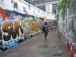 Arte Urbano en Werregarenstraat, en Gent