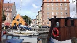 Un canal cerca de Christiania