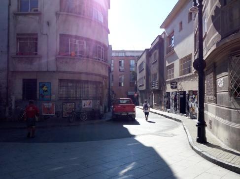 Tardecita, Santiago