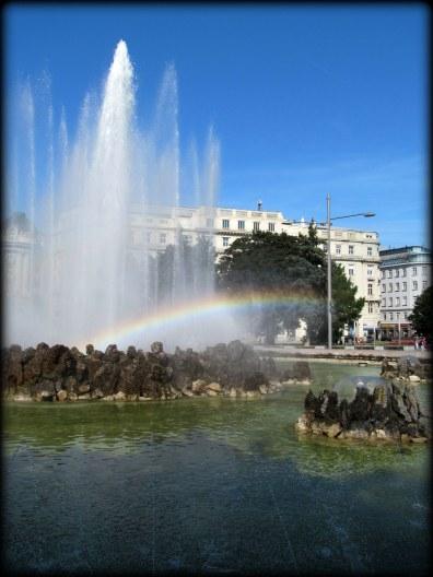 Arcoiris en Viena